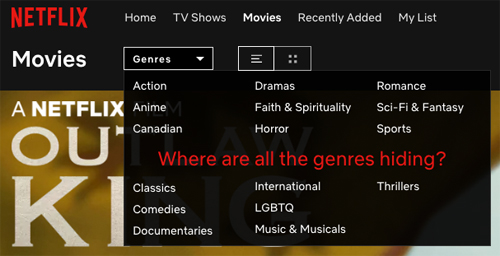 Netflix Secret Codes and How to Use Them