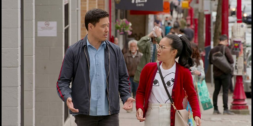 Randall Park and Ali Wong in Always Be My Maybe (2019)