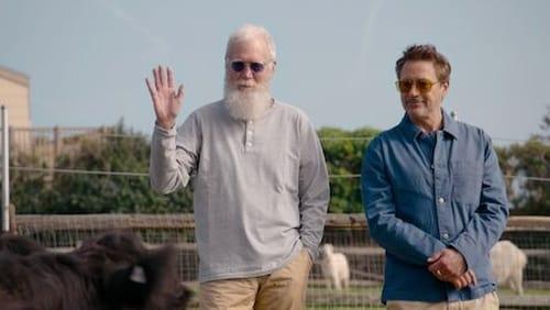 David Letterman - Robert Downey Jr