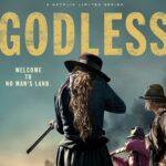 Title: Godless, photo of a woman holding a shotgun