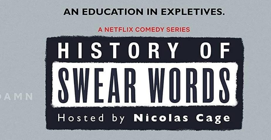 Title: History of Swear Words inside a parental warning label
