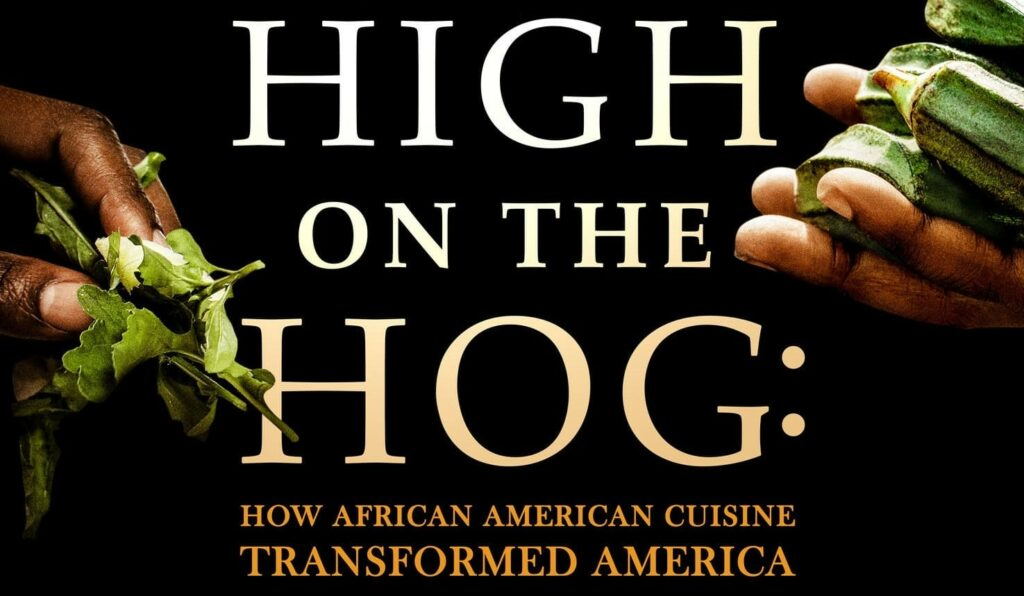 """title page for TV show """"High on the Hog"""""""