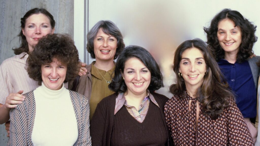 A group of women from the 1980s